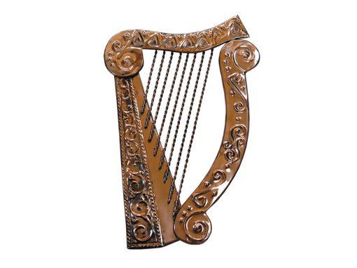 Harp - Heraldry Shop House of Names, Dublin, Ireland