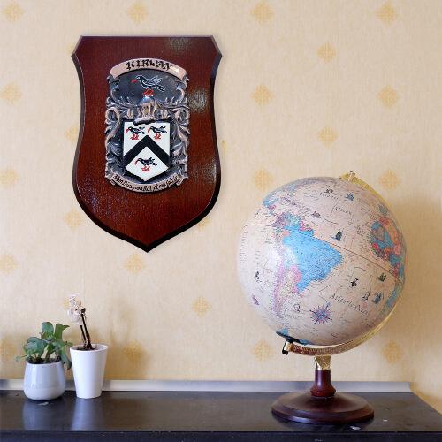 conqueror shield hanging