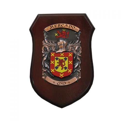 The Commander Shield - Heraldry Shop House of Names, Dublin, Ireland