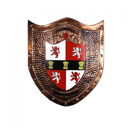 Copper Shield - Heraldry Shop House of Names, Dublin, Ireland