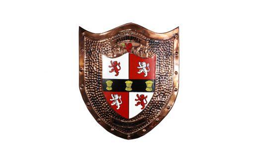 Copper Shield - Heraldry Shop House of Names, Dublin, Ireland