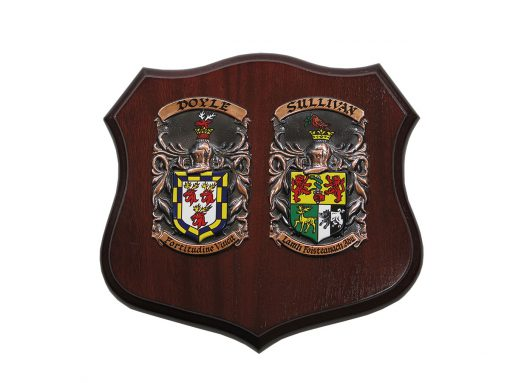 The Cadet Shield - Heraldry Shop House of Names, Dublin, Ireland