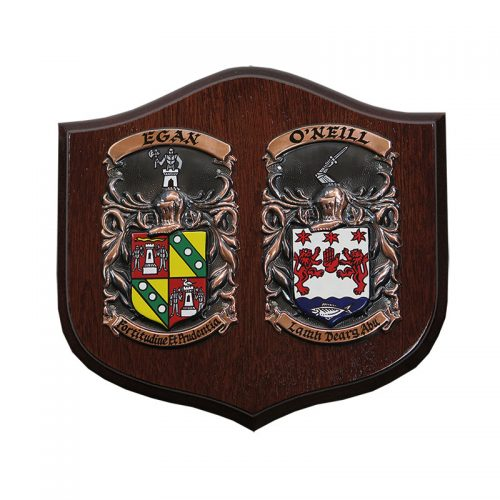 The Wedding Day Shield - Heraldry Shop House of Names, Dublin, Ireland