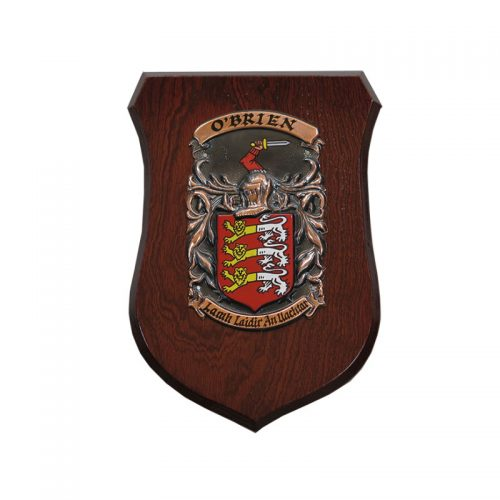The Conqueror Shield - Heraldry Shop House of Names, Dublin, Ireland