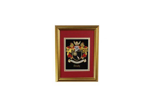 Mini Single Embroideries - Heraldry Shop House of Names, Dublin, Ireland