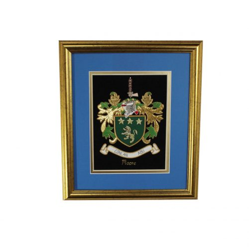 Medium Single Embroideries - Heraldry Shop House of Names, Dublin, Ireland
