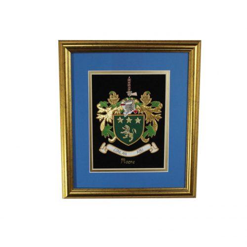 Medium Single Embroideries - Heraldry Shop House of Names, Dublin, Ireland
