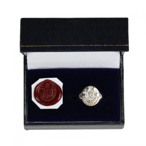 Small Ovel Ring - Heraldry Shop House of Names, Dublin, Ireland