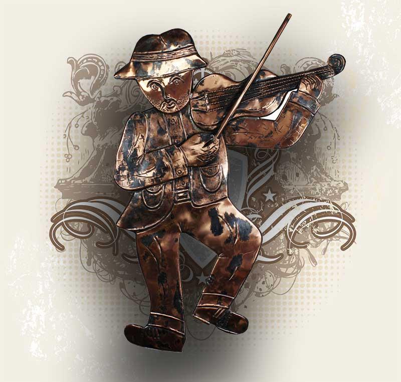 Heraldic Copper Art